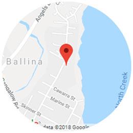 Ballina Map