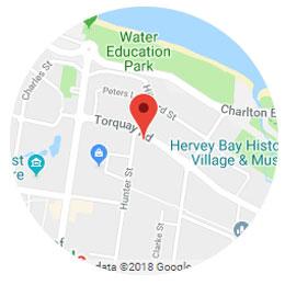 HerveyBay Map