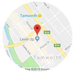 Tamworth Map