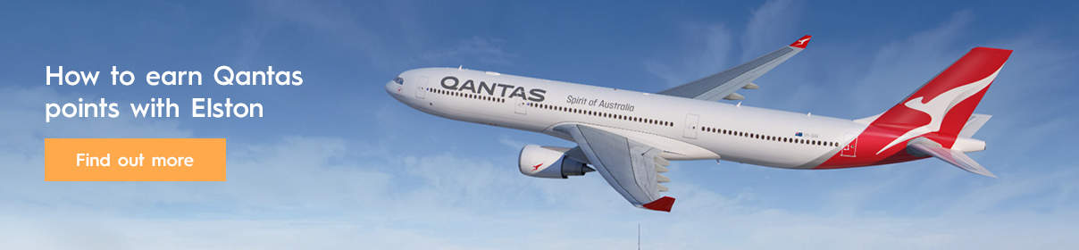 How to earn Qantas points with Elston