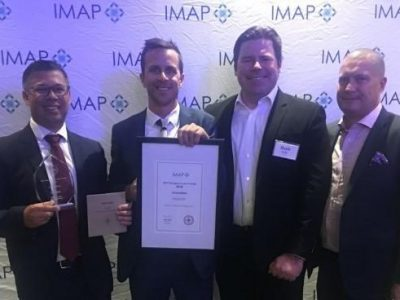 Elston Wins Inaugural IMAP Innovation Award