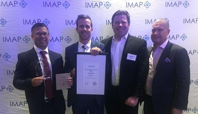 Elston Wins Inaugural IMAP Innovation Award